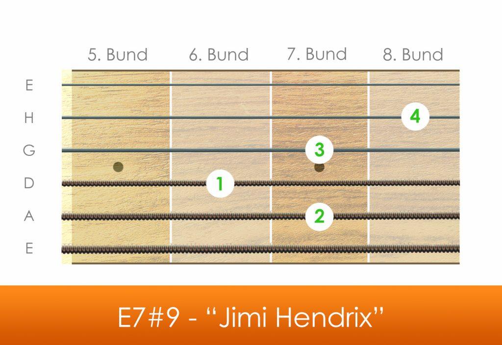 Jimi Hendrix, E7#9