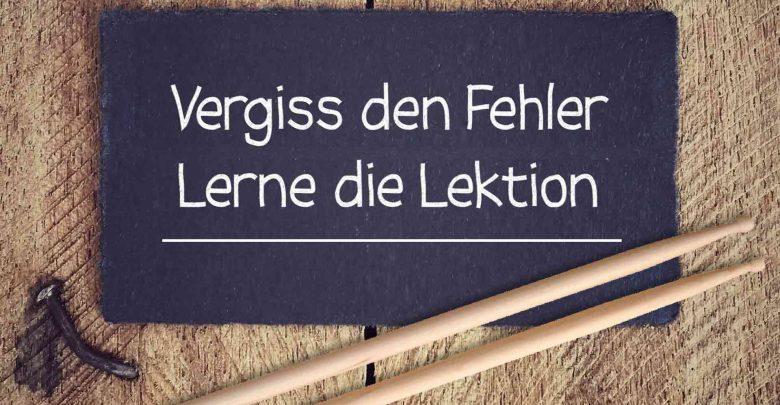 Photo of Keine Angst vor Fehlern – Tipps für Schlagzeuganfänger Teil 5